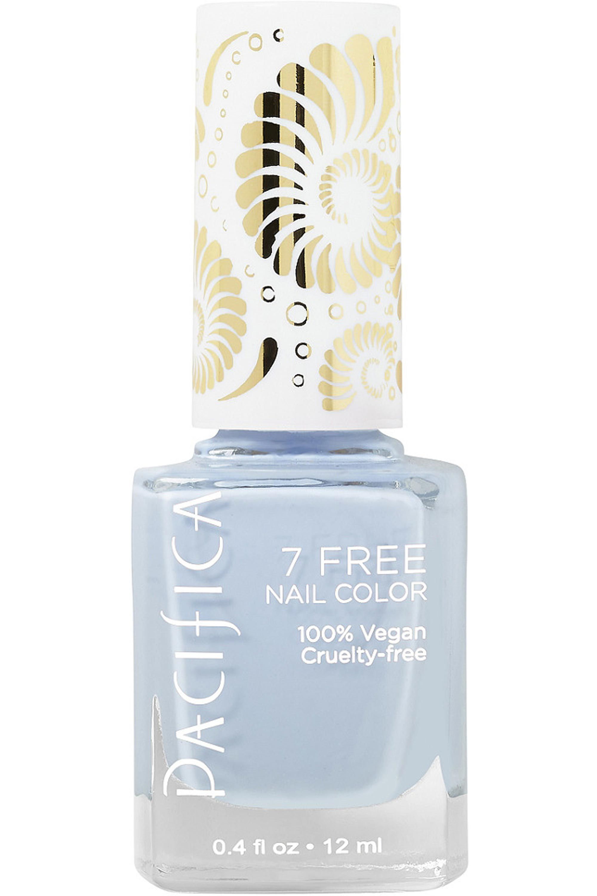 Pacifica 7-Free Nail Polish Collection in Pale Blue Eyes