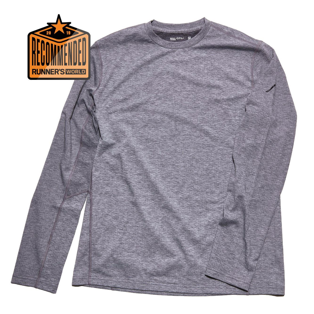 49b8018a744 Hill City Men s LS Bodymap Train Tee. The right shirt ...