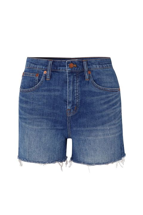 a25ef55cde 12 Best Denim Shorts of 2019 for Women - Distressed, High Waisted ...