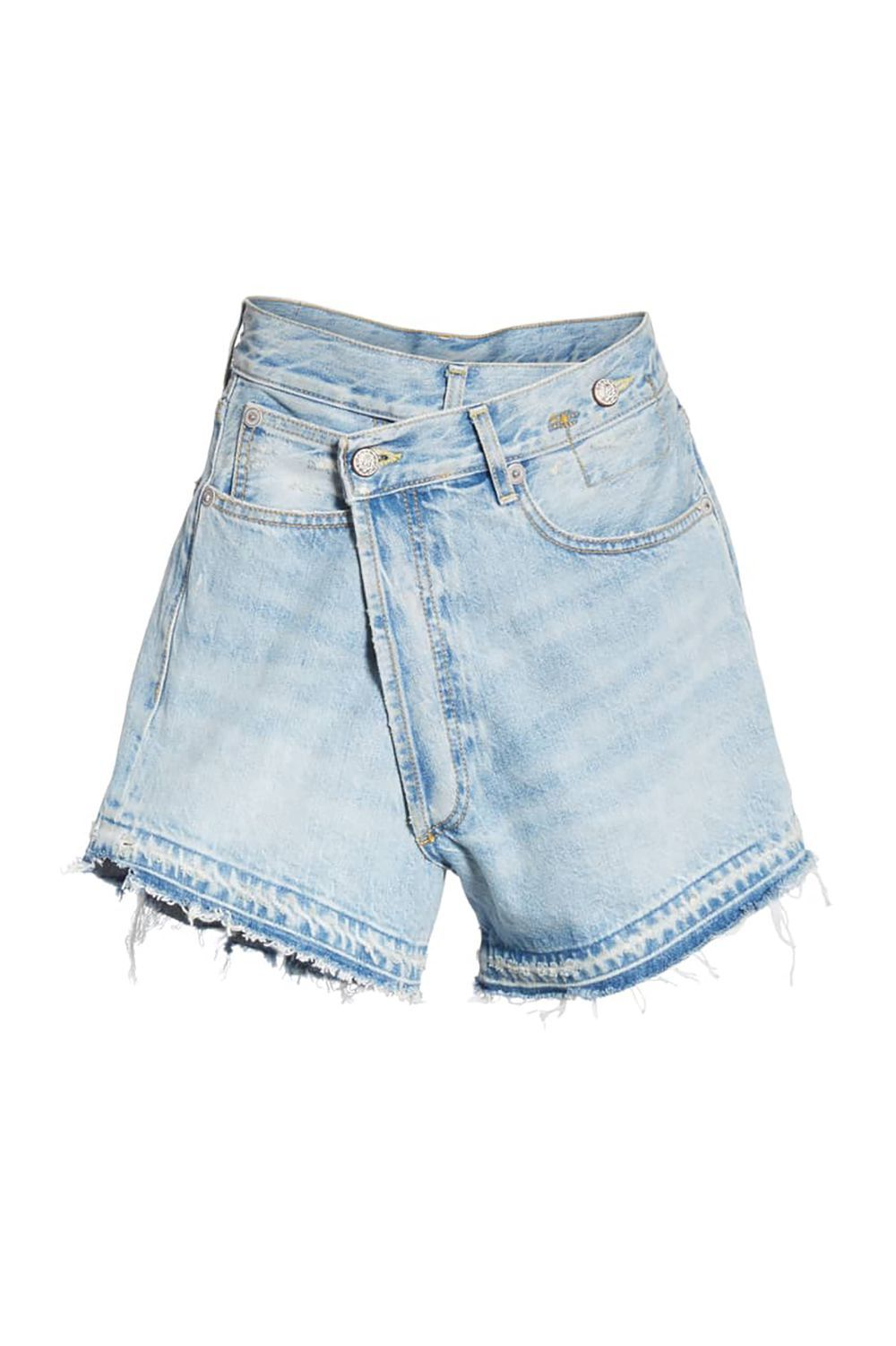 7873910ebf75 12 Best Denim Shorts of 2019 for Women - Distressed
