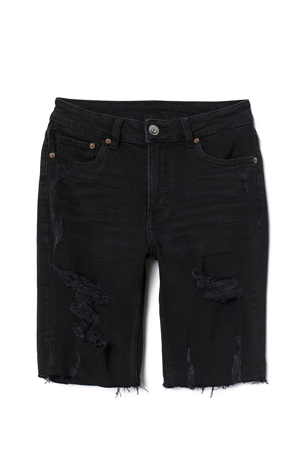 c6ebd5f869 12 Best Denim Shorts of 2019 for Women - Distressed, High Waisted, and More