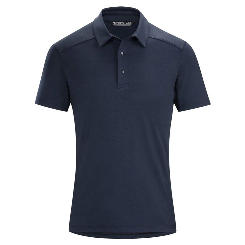 Enjoy This Men Regular Fit Cotton Polo Shirts Classic Short Sleeve Polo Black