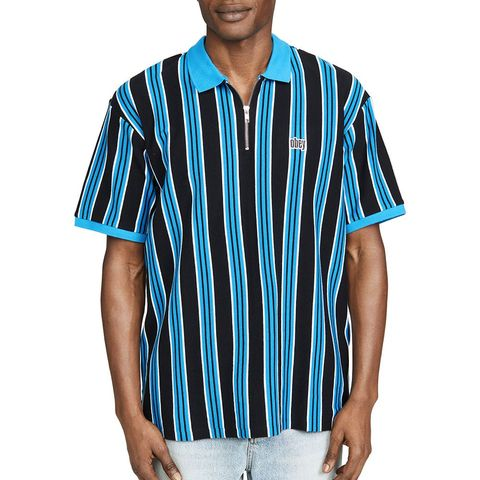 fe877ef77c4 14 Obey Men s Rader Classic Zip Polo Shirt