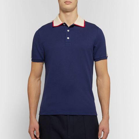 37d74f1d319 15 Gucci Men s Stretch-Cotton Piqué Polo Shirt