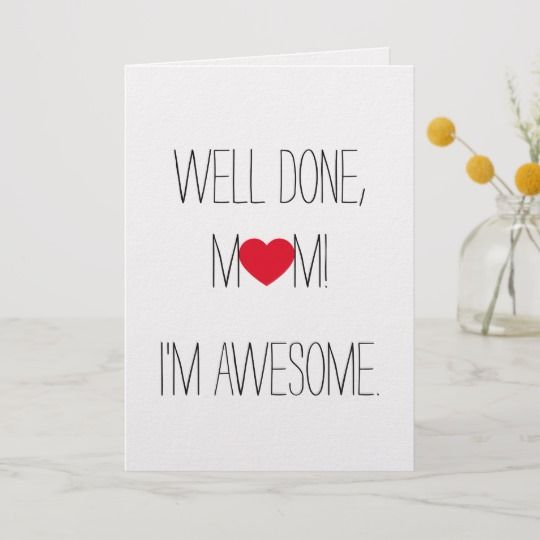 Funny And Unique Mother S Day Cards