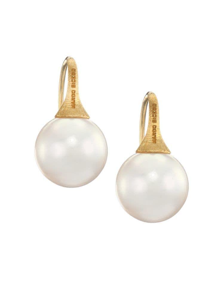 24b42c42ef7 Pearl and Gold Earrings - Best Pearl Drop Earrings