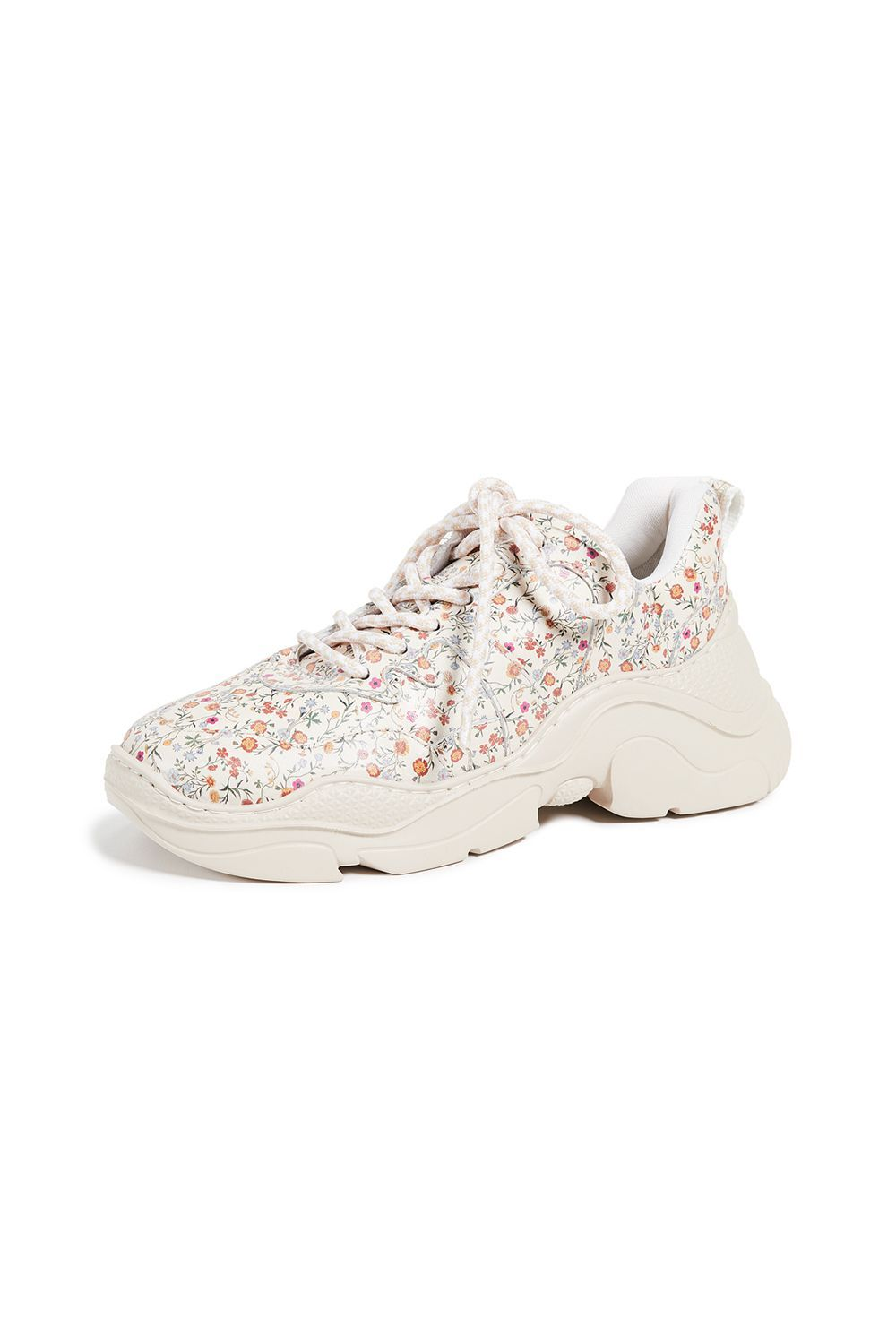 Jackye Dad Sneakers Schutz shopbop.com $185.00 SHOP IT I've had my eye on this sold-out floral sneaker from Schutz since last season and it's finally back in stock (!!). The blooming floral print coupled with the chunky sole gives it street style cred, and I can see myself wearing this with a white summer dress or high-waisted mom jeans.