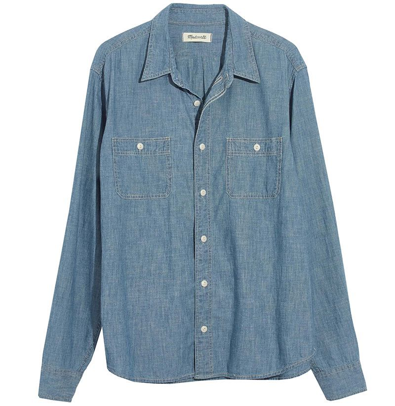 44ebf171c 14 Chambray Shirts to Wear this Spring - Best Shirts for Men