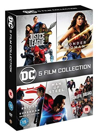 DC 5 Film Collection [DVD] [2018]