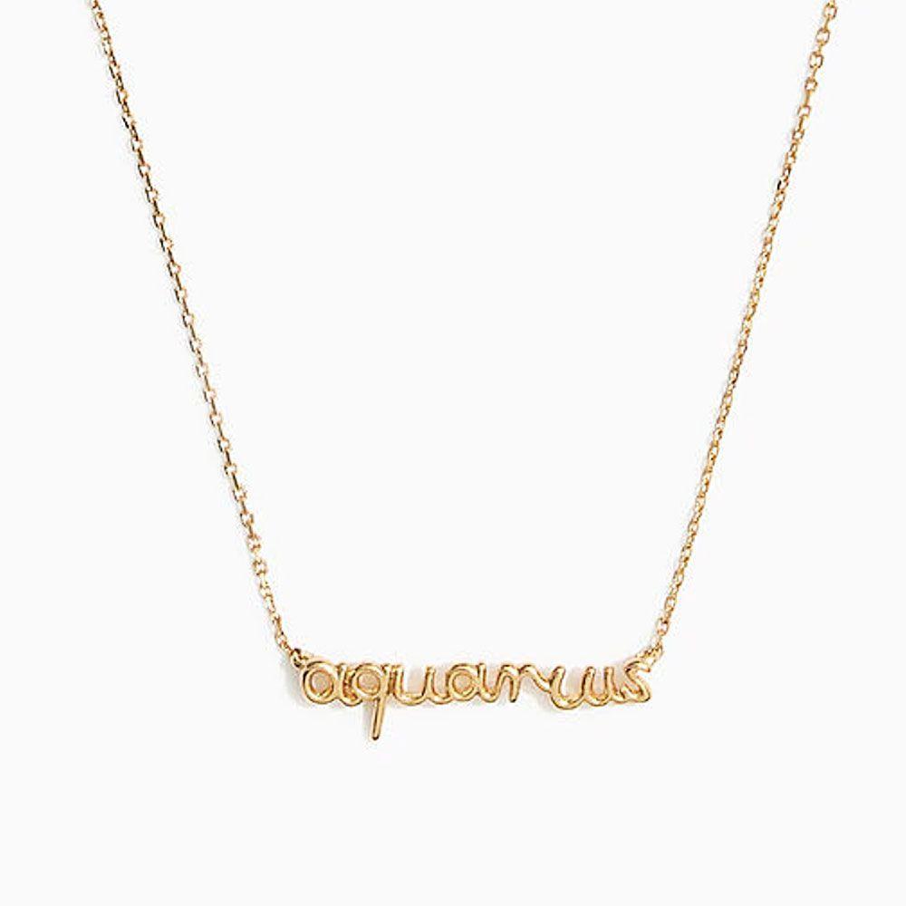 Vermeil Astrological Sign Necklace