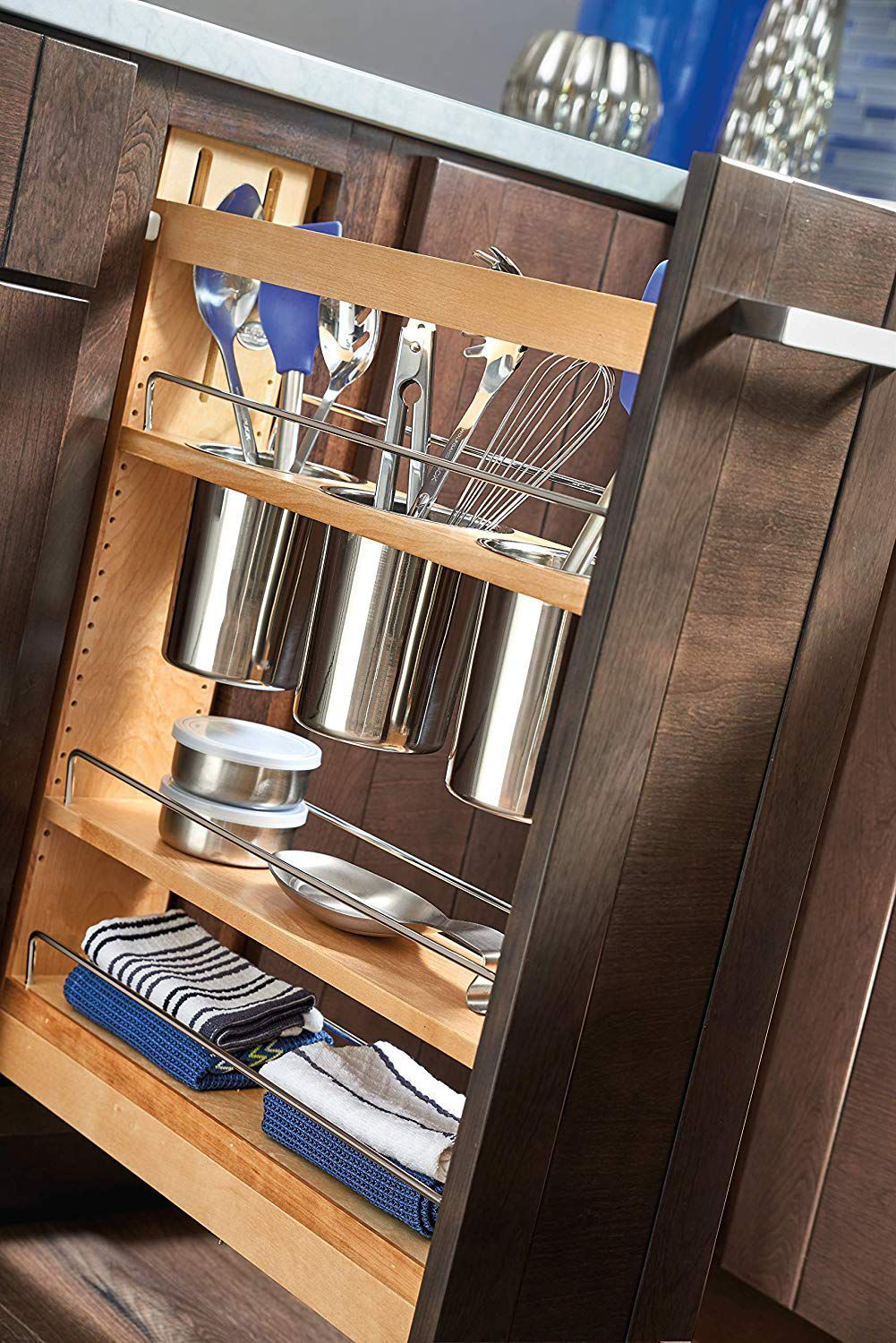 Pull-Out Utensil Drawer Organizer
