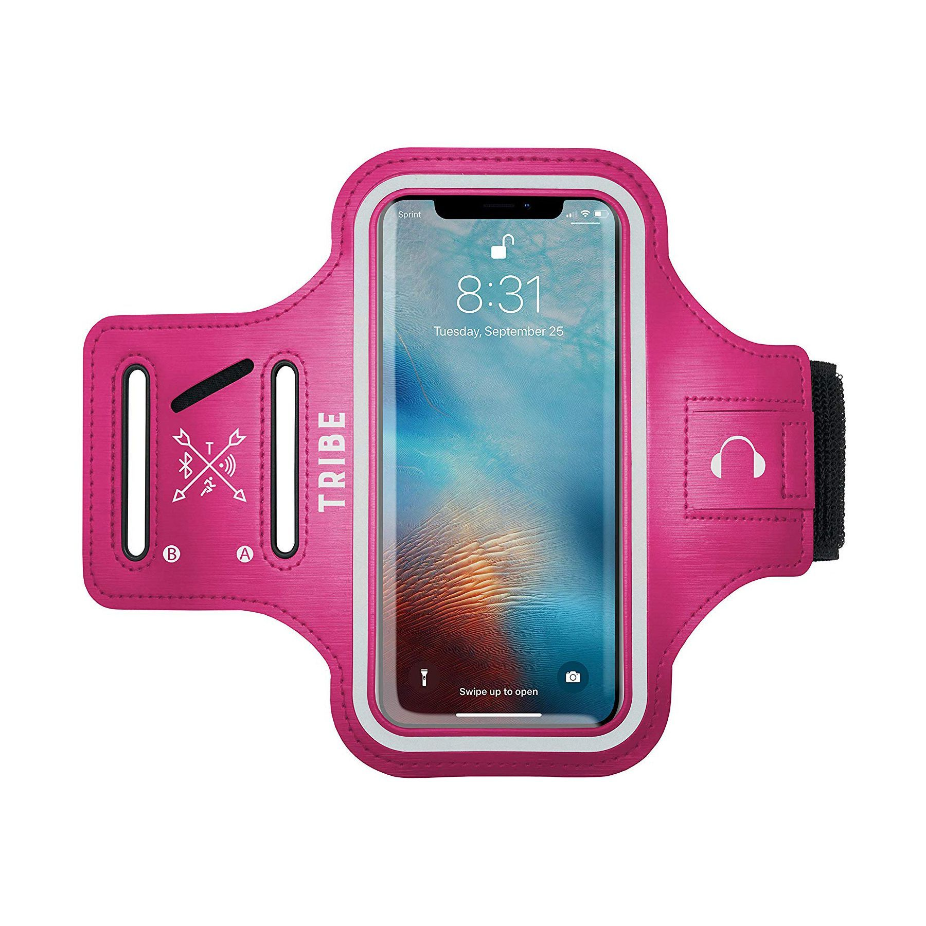 lowest price 8de21 29baf Tribe Water Resistant Cell Phone Armband Case