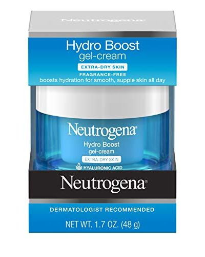 Hydro Boost Hyaluronic Acid Hydrating Face Moisturizer Gel-Cream to Hydrate and Smooth Extra-Dry Skin, 1.7 oz