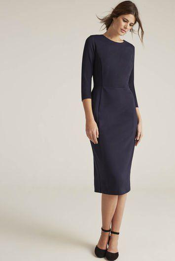 3aee65a77f351 A Simple Column Dress