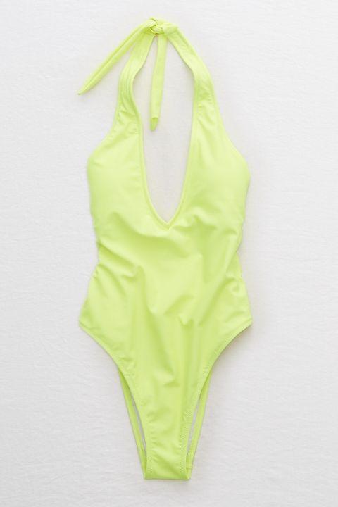 1b128c0843831 Aerie Super Plunge One Piece Swimsuit. Aerie ae.com