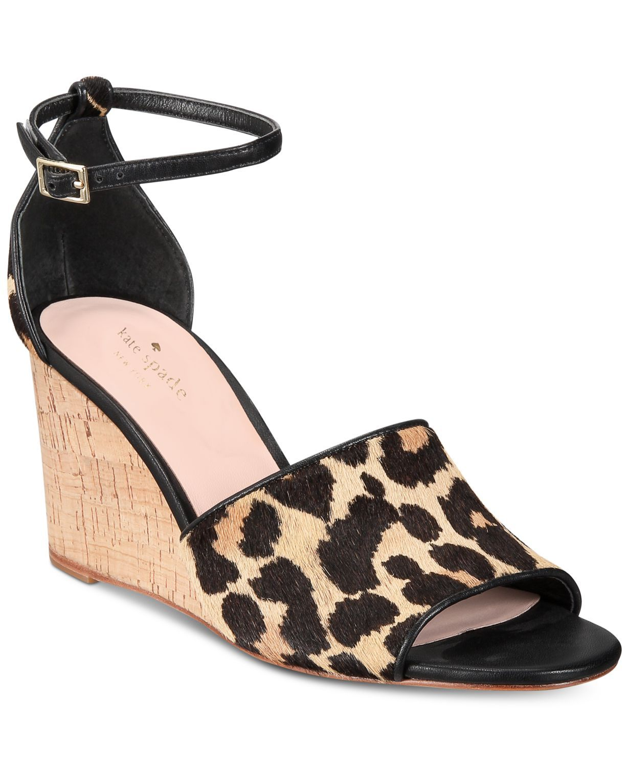 Leopard Ankle Straps kate spade new york macys.com $198.00 SHOP NOW The magical thing about leopard is that it's flirty, yet a print your grandmother would happily wear. Add a spotted touch for a bit of flair (great if your work wardrobe tends to stick to a rotation of black pieces).