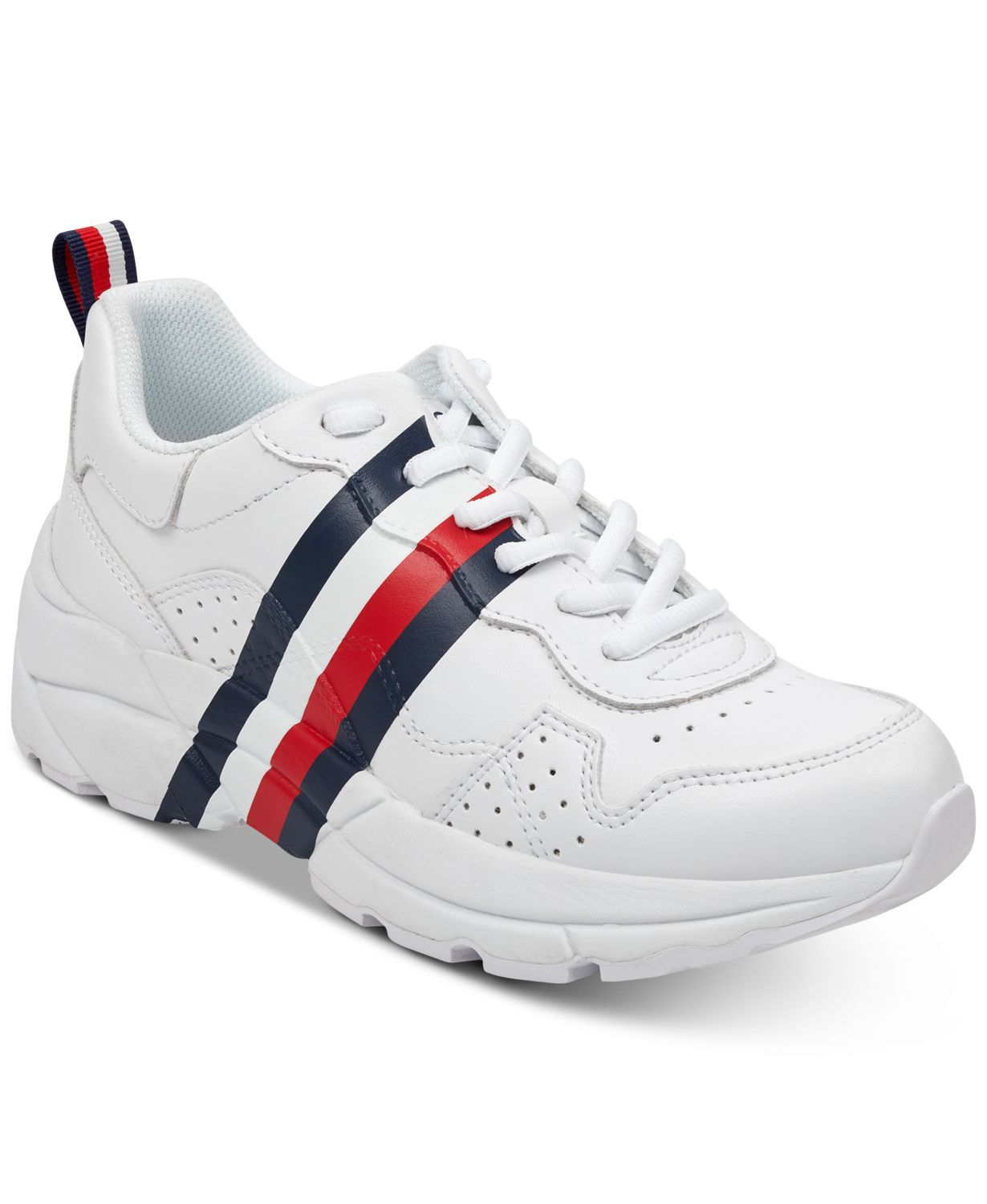 """Unique Dad Sneakers Tommy Hilfiger macys.com $79.00 SHOP NOW You've seen a hundred pairs of """"dad sneakers"""" by now, right?"""