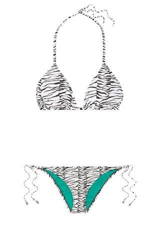 Lucia Printed Halterneck Bikini