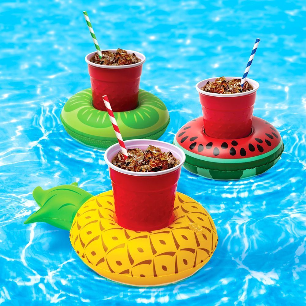 BigMouth Inc. Inflatable Pool Party Drink Floats