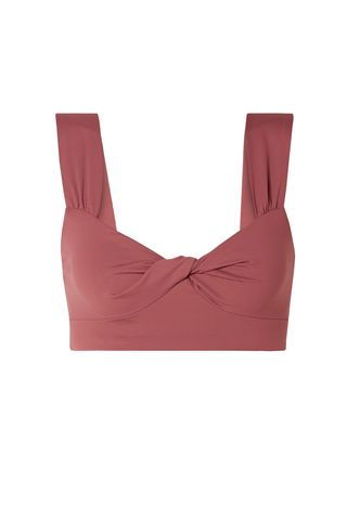 Lehi Twist-Front Bikini Top