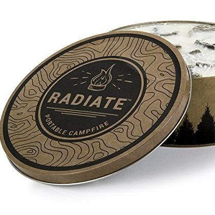 Radiate Portable Campfire Radiate amazon.com $27.99 SHOP NOW If your dad is an outdoorsy guy, this soy wax-based portable campfire provides more than three hours of burn-time. Plus, it's easy to pack!