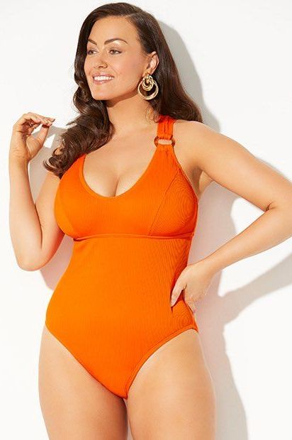 51f8d5482 18 Best Swimsuits for Big Busts — Supportive Bra Swimsuits