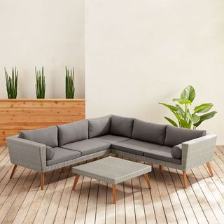 Sectional & Coffee Table Set