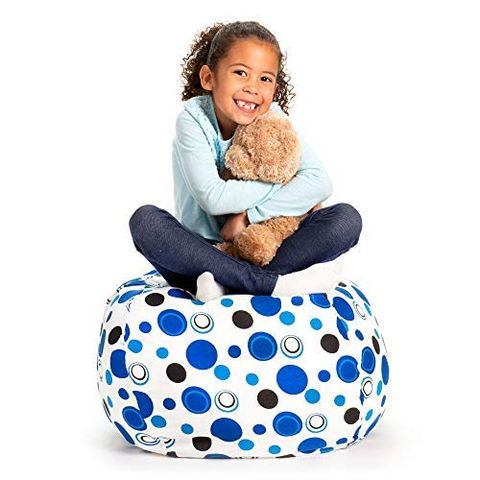 Fur Real Stuffed Animals, The Creative Qt Organizer Turns Your Kid S Stuffed Animals Into A Bean Bag Chair