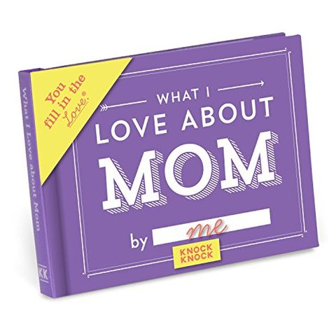 What I Love About Mom Fill In The Journal