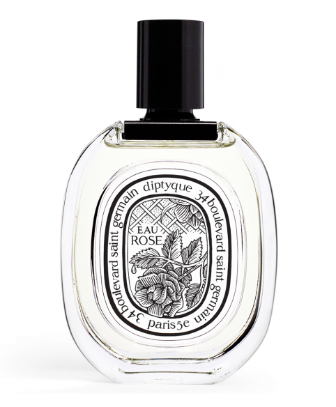 "Diptyque Eau Rose diptyqueparis.com £50.00 SHOP NOW What they say: "" Composed as an infusion of the most beautiful Damascena and Centifolia roses. "" What we say: A stroll through a grassy rose garden, with a stacked ice cream cone and someone very, very good-looking."