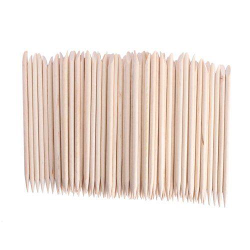 Palitos de naranja Palitos de madera para cutículas