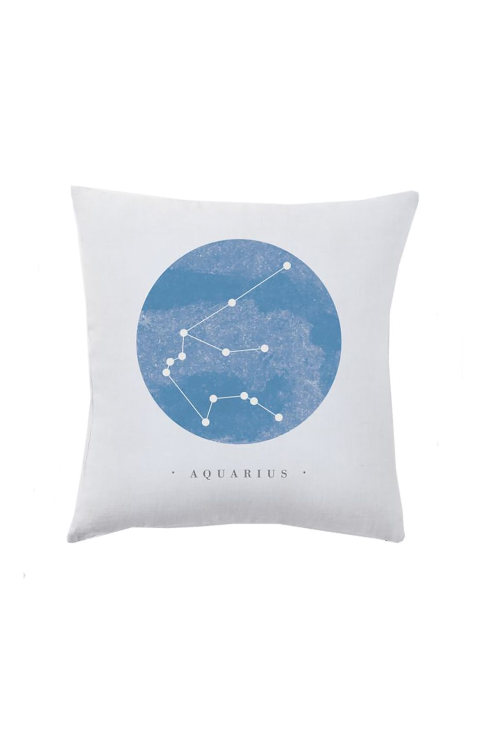 Astrological Pillow Cover West Elm $14.00 SHOP IT When she's not ready to commit to adding a new decorative pillow to her home (and you don't want to gift her something she won't use), a cute astrological pillow cover allows her to swap 'em out whenever she pleases.