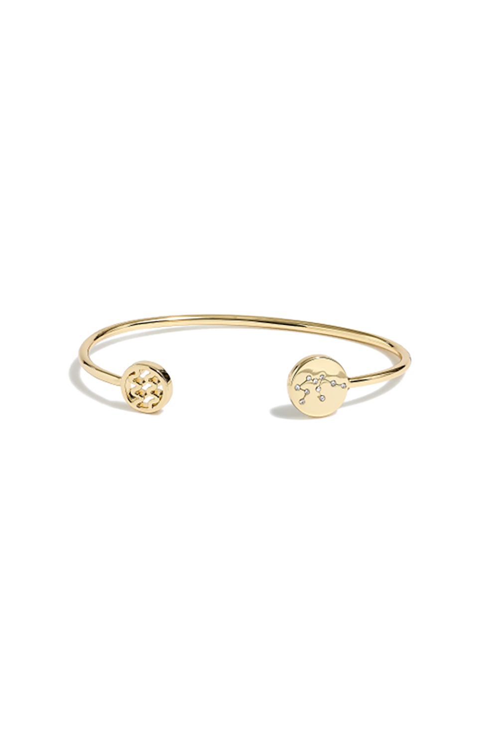 Zodiac Cuff Bracelet J.Crew $9.00 SHOP IT How could you not buy you and your best friend matching $9 (!) gold-plated brass cuffs?
