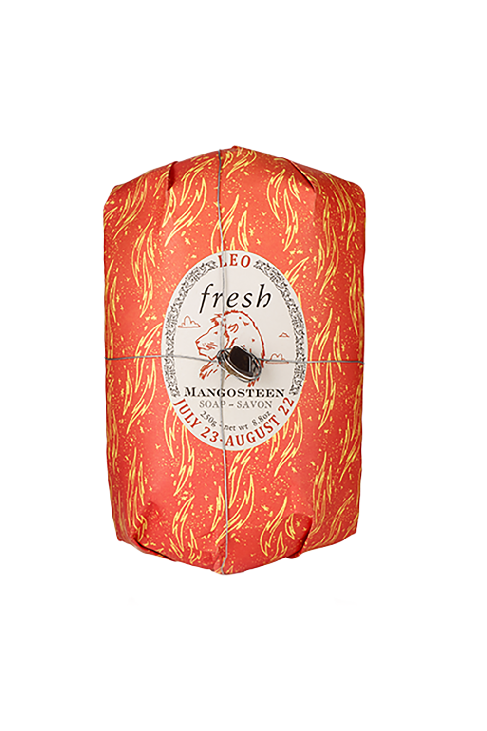 Leo Oval Soap Fresh $15.00 SHOP IT Leos will be over the moon knowing that you took a moment to appreciate their needs with a moisturizing shea butter soap infused with a mangosteen scent.