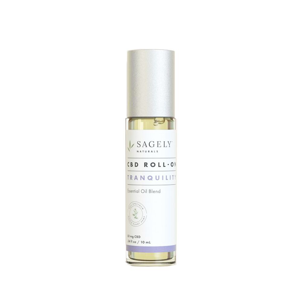 Sagely Tranquility Stress Treatment CBD Roll-On