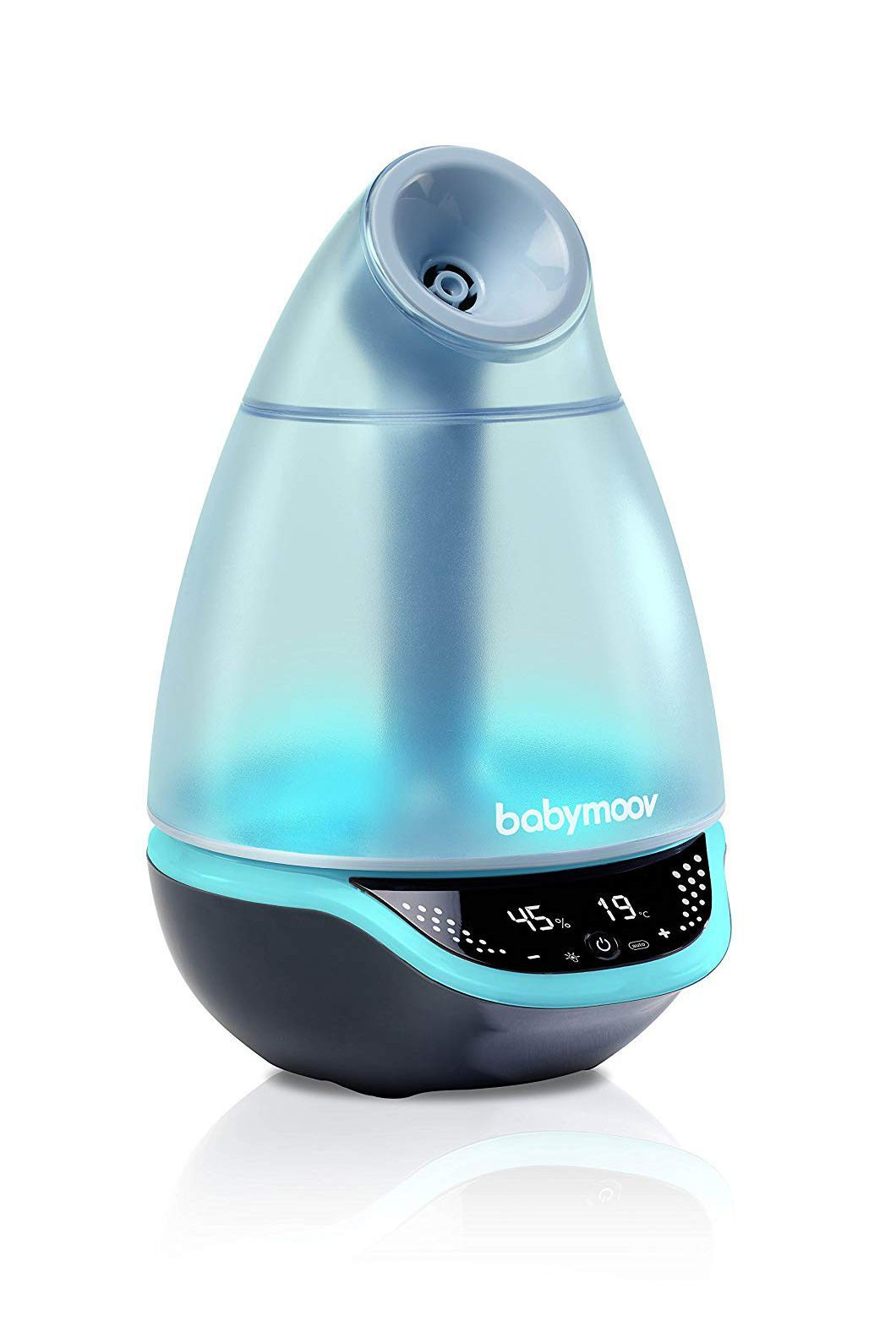 A Humidifier Babymoov Amazon $79.57 SHOP IT This humidifier adds moisture to the air when she needs it the most. The multi-colored night light has seven different colors and a 22-hour run time with a silent feature.