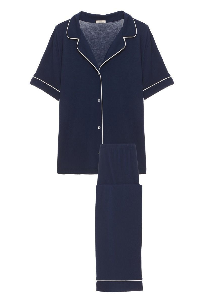 A Comfy Set of Pajamas Eberjey Shopbop $118.00 SHOP IT Once she slips these on, she may never want to take them off. (Go ahead, Mom, stay in your PJs all day—you deserve it!)