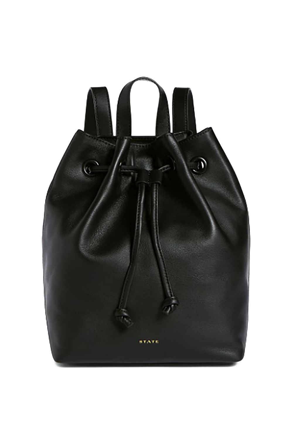 """A Leather Backpack STATE $275.00 SHOP IT STATE's smooth leather backpack will feel like an instant upgrade to the one your mom has been carrying around since you were a toddler. Backpack proceeds will be donated to TIME'S UP —an organization that """"insists on safe, fair and dignified work for women of all kinds."""""""