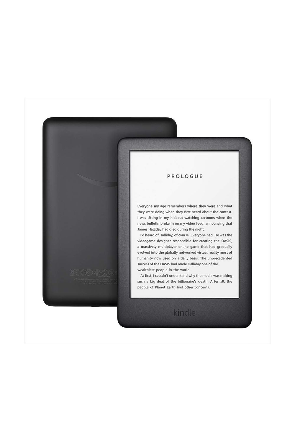 The New Kindle Amazon $89.99 SHOP IT Amazon released its brand new Kindle, which includes a built-in front light. It's perfect for when dad goes to sleep early and mom doesn't have to hear him complain about turning off the lights.