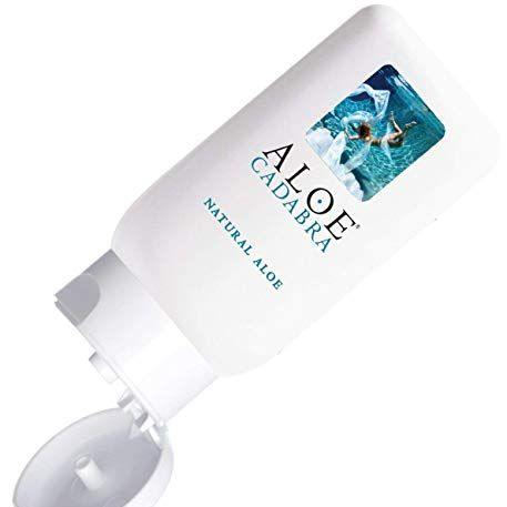 6 Aloe Cadabra Natural Personal Lube, Organic Best Sex Lubricant Oral Gel for Her, Him & Couples, Unscented, 2.5 oz