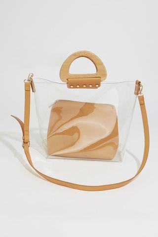 Petit sac cabas transparent
