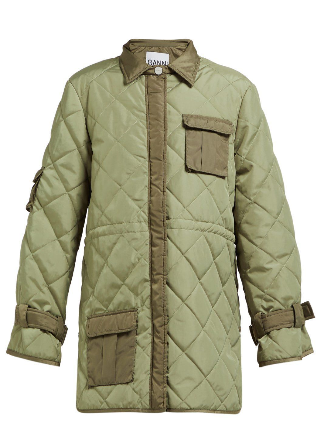 Ripstop Quilt Jacket Ganni shopbop.com $475.00 SHOP NOW Level up from that classic Barbour jacket.