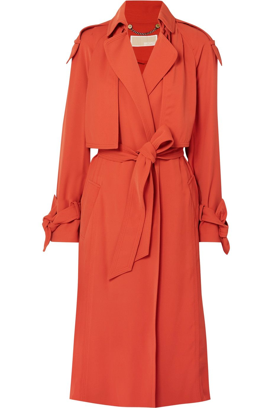Belted Cady Trench Coat Michael Michael Kors net-a-porter.com $275.00 SHOP NOW Break out of a neutral rut in this not-too-light, not-too-heavy brick trench.