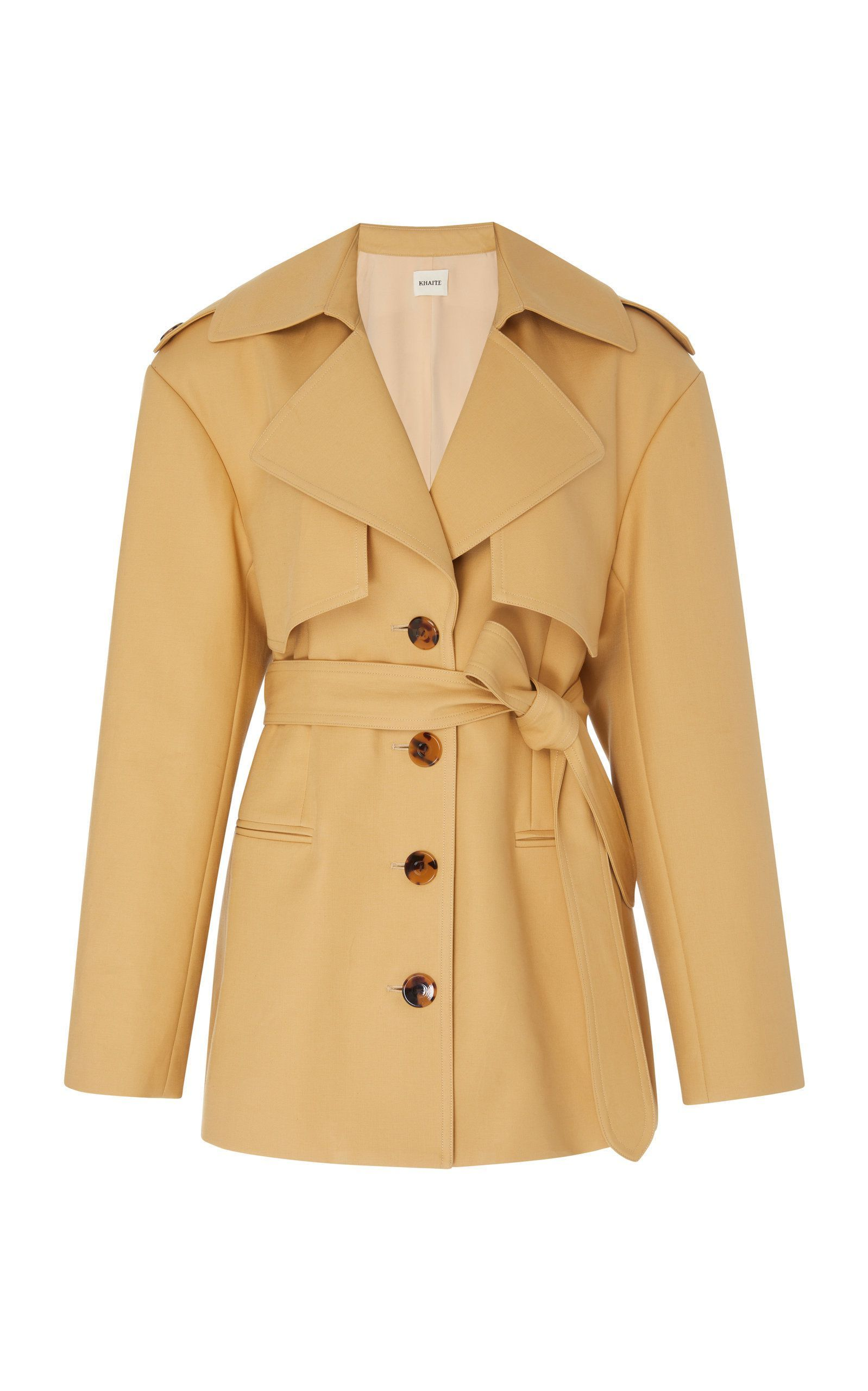The Billy Trench Khaite khaite.com $1,620.00 SHOP NOW Define your shape in this immaculately cut trench.