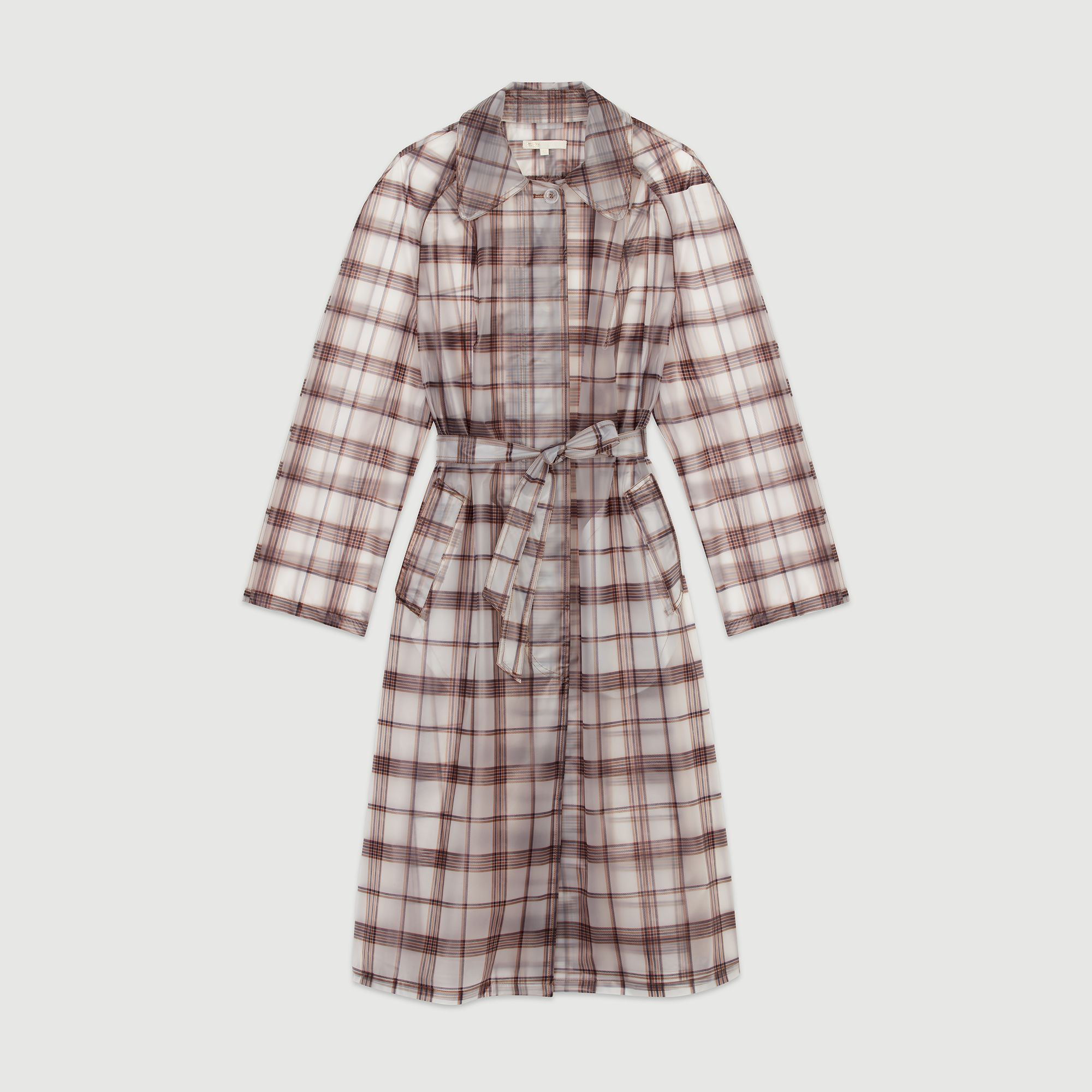 Checkered Windproof Jacket Maje maje.com $255.00 SHOP NOW Transparent plaid is a cool upgrade from classic khaki.