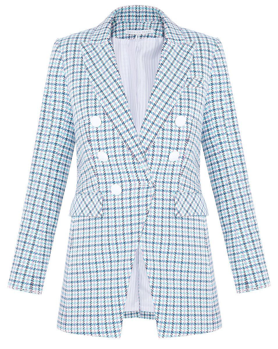 Moroso Dickey Jacket Veronica Beard veronicabeard.com $650.00 SHOP NOW What's more spring than pastel-colored houndstooth?