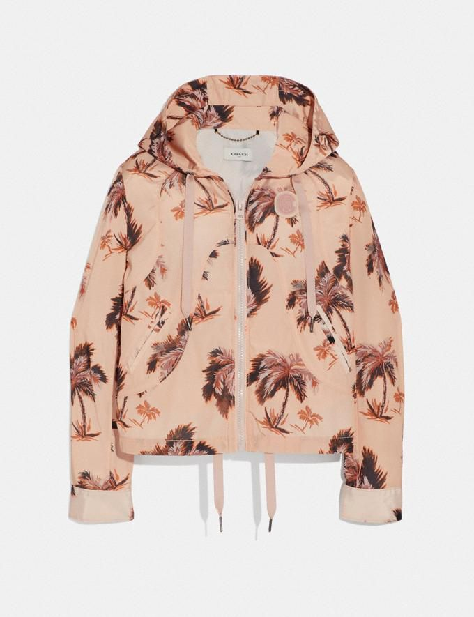 Palm Tree Print Western Windbreaker Coach coach.com $395.00 SHOP NOW Skip the floral print in favor of tropical palms.