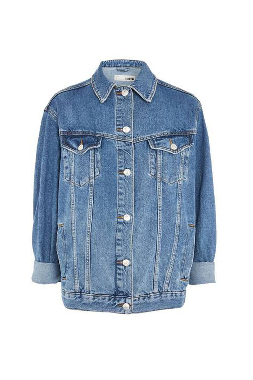 Editor's Choice Oversized Denim Jacket Topshop Nordstrom $90.00 SHOP IT