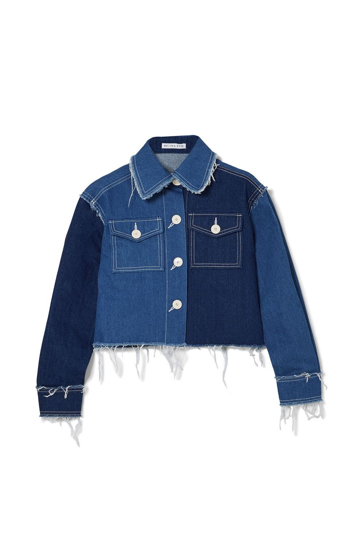 Editor's Choice Frayed Denim Jacket Rejina Pyo Net-a-Porter $520.00 SHOP IT