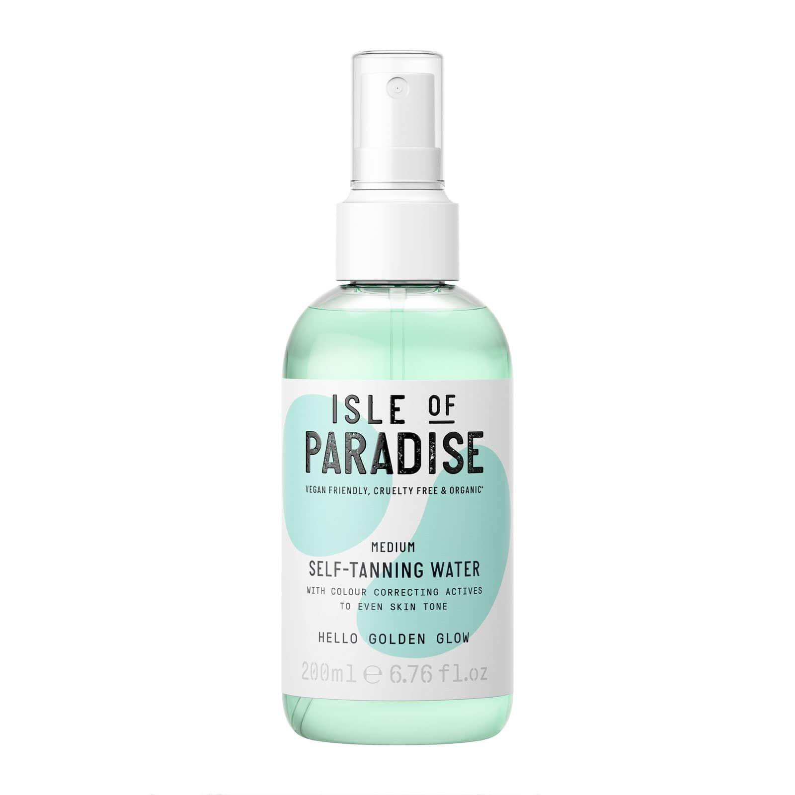b1800513e1754 Isle of Paradise Self-Tanning Water Medium 200ml
